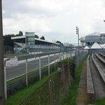 Empty track in Monza