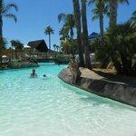 Una parte de la piscina, un paraiso