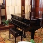 piano at Reception