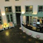 Bar intérieur de la réception