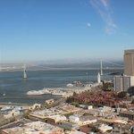Vista de SF da Coit Tower