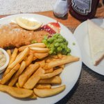 Fish and chips (and sliced bread!)