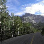 Nearby Mt. Wheeler in the Great Basin National Park--60 mi. away