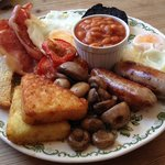 The 'Fry Up Inspector' breakfast, amazing!
