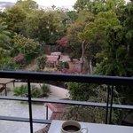 Απογευματινό καφεδάκι στο μπαλκόνι