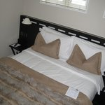 King size bed in Standard double room