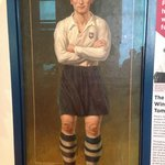 Portrait of Sir Tom Finney, PNE player