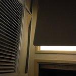 Broken soffit ceiling