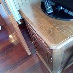 Muebles arañados