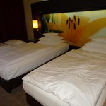 Room interior/twin beds