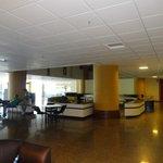 Wide, empty lobbies