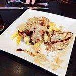 Tapa de solomillo con salsa de foie 3,15€