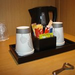 coffee facilities in room