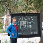 Alaska Heritage House Sign at Cowles and 5th