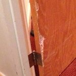 Door damage in our room
