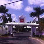 Entrance to Riu Montego Bay and Riu Palace Jamaica