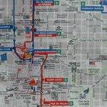 Mapa de los alrededores del hotel