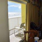 View towards balcony