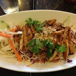 Vietnamese cabbage slaw