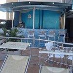 bar de la piscine