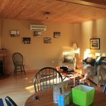 inside chalet (living room)