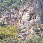 The Necropolis of Dalyan