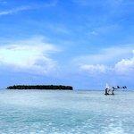 Anfahrt aufs Atoll