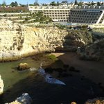 hotel from the cliff