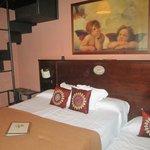 Habitación Xicoria. Muy grandre y con altillo con dos camas mas (ideal para familias)