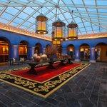 Un lobby de lujo