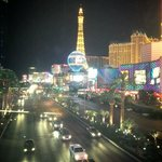 Nightime in Sin City! Crawling away from our club crawl..