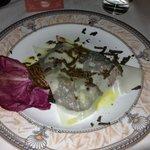 Feletto met Parmezan en truffel