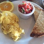 Breakfast at Claire's in Solana Beach, CA