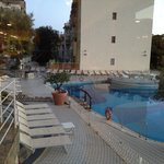 Empty pool view