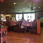 One of three dinning areas