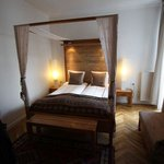 Double bes was acutally two single beds