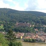 View of Heidelberg from Philosopher's Way