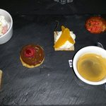 Café gourmand - excellent value