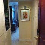 Zig zag entry? lol. pretty small corridor