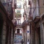 QUARTIER GOTHIQUE, BARCELONE