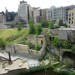 Mill ruins - view from the Stone Arch Bridge