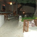 Lagoon Bar at Night - Lovely but Adult Only Pay Bar - Not in all inclusive
