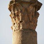 Ostia Antica column