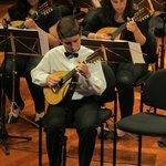 Der Solist Rodrigo Freitas