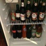 minibar-loved the glass bottles of fanta, etc sodas