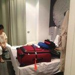Room 104 bedroom area
