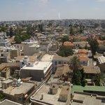 Nicosia dall'alto
