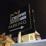 Parcheggio riservato ai clienti