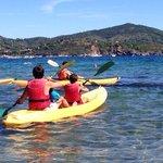Il giro in canoa coi bambini