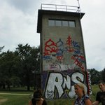 a East German control tower